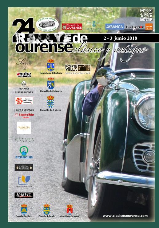 Rally de Clásicos de Ourense 2018